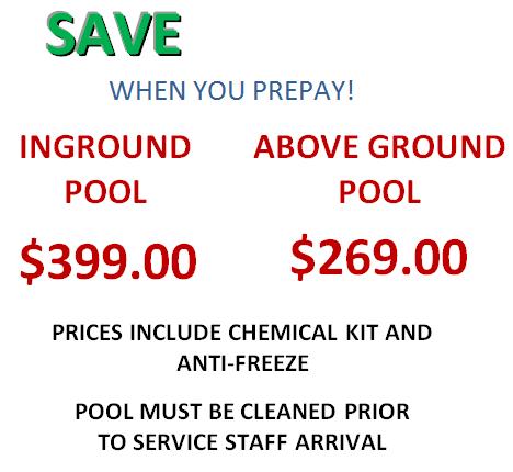 Pool Closing Prices 2.0