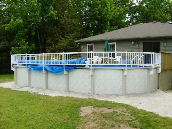 Above Ground Pool Steps